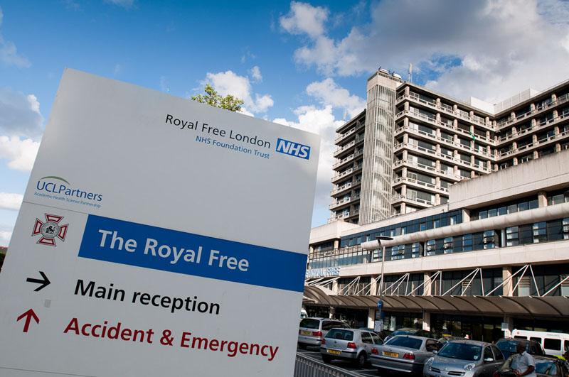 Royal free london hospital
