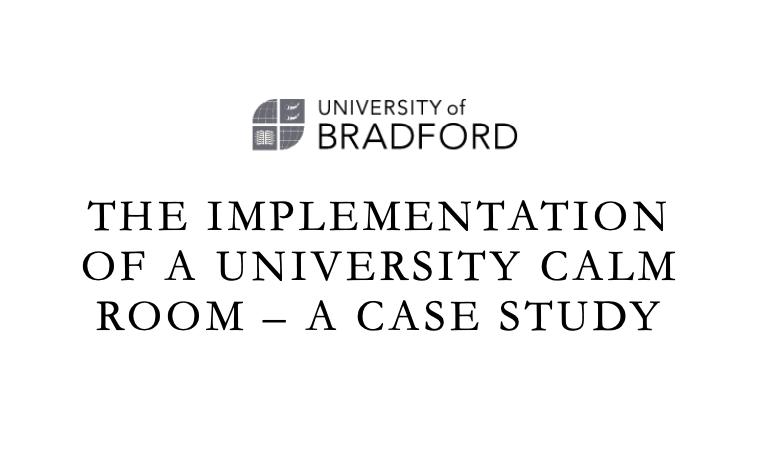 University of Bradford Calm Room